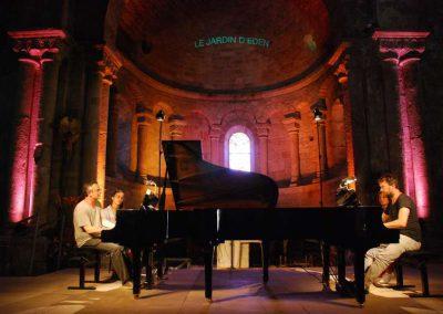 2 Août Jean-Sébastien Dureau et Vincent Planès deux pianos