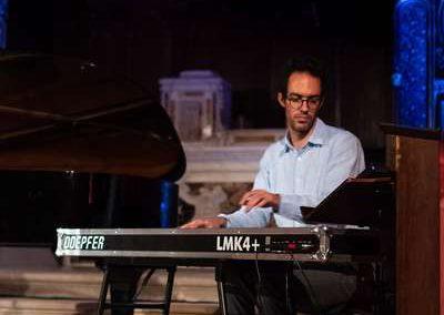 7 août 2019 Othman au clavier