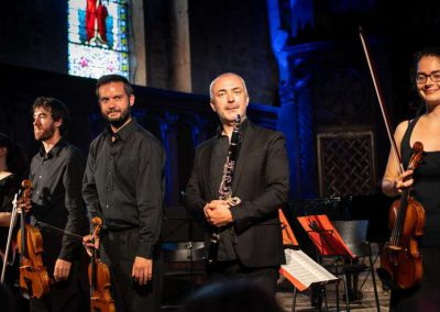 9 août 2019 Salut du quintette de Mozart