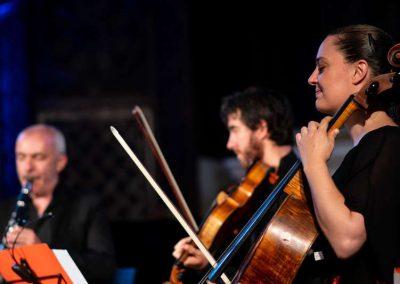9 août 2019 détail dans la quintette avec clarinette de Mozart